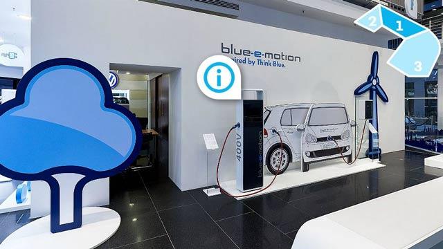virtuelle Tour Volkswagen ansehen.