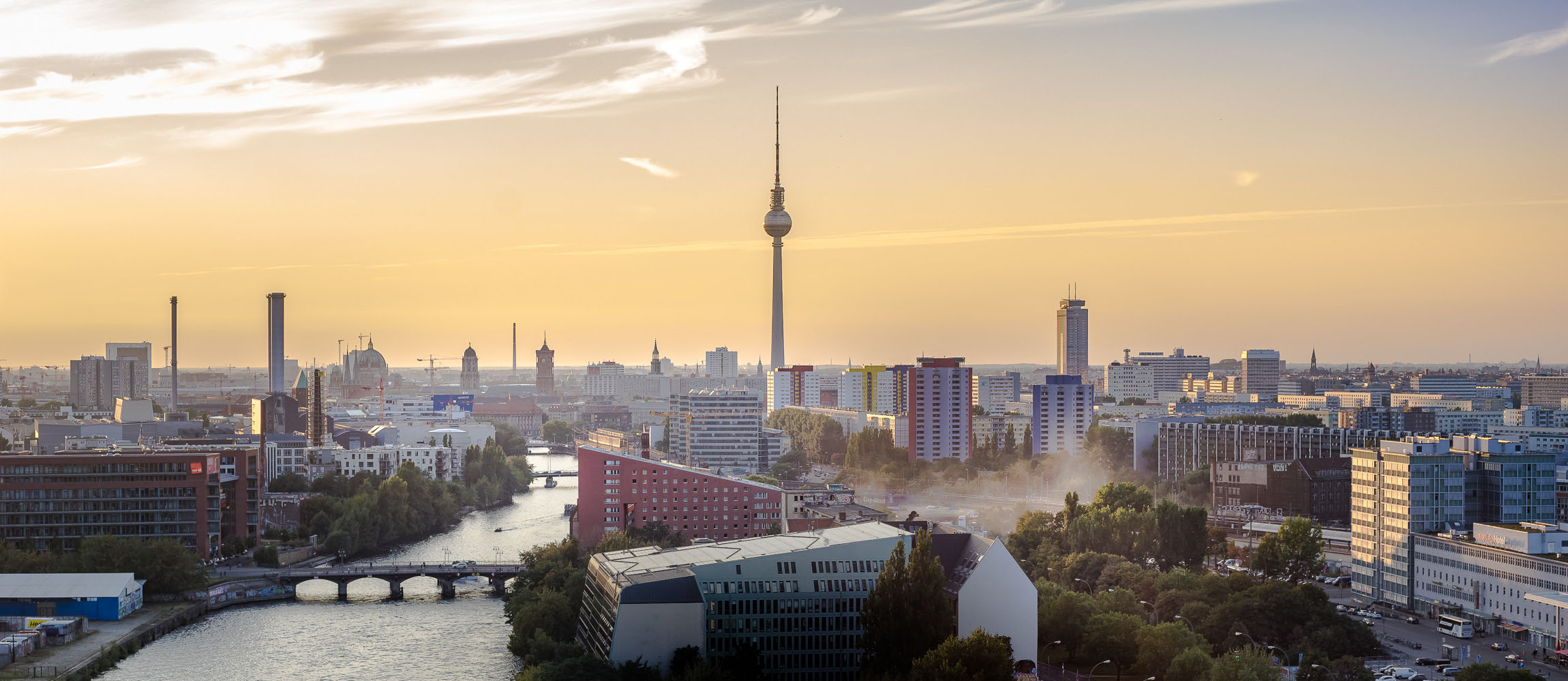 Panorama Berlin Skyline