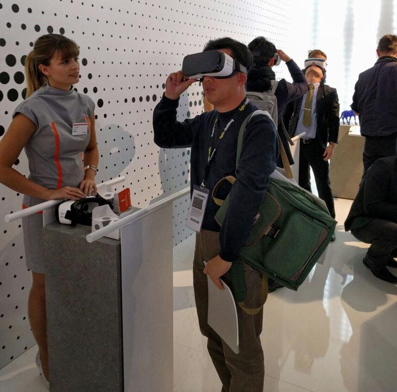 VR Erlebnis Gear VR