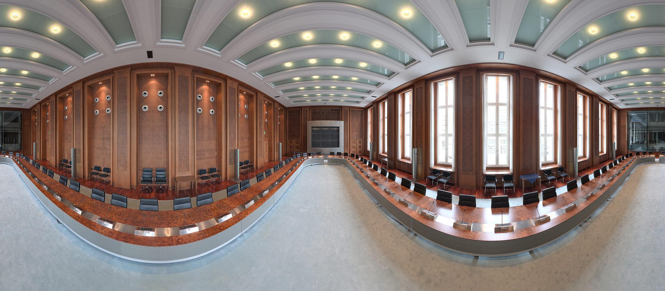 360 Grad Fotos aus dem Bundesministerium der Finanzen