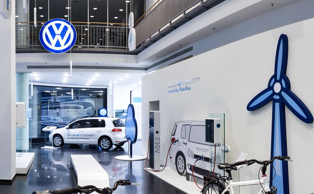 360 Grad Rundgang Volkswagen