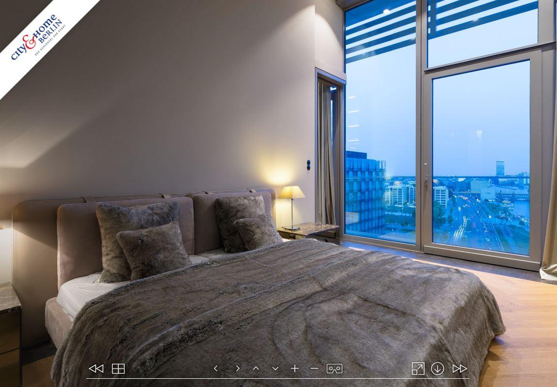 Bedroom in Luxus Immobilie