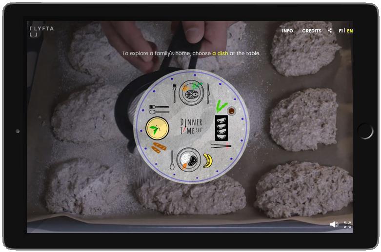dinnertime 360 Anwendung