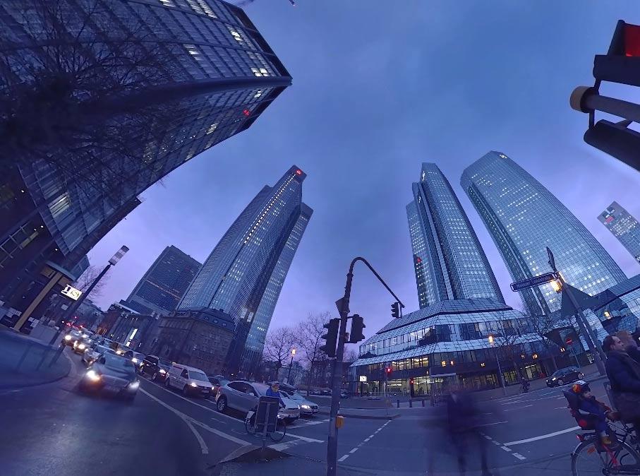 360 Grad Video aus Frankfurt